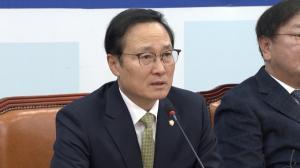 """홍영표 """"선거법 개정 찬성, 야3당 비판 받아들이기 어렵다"""""""