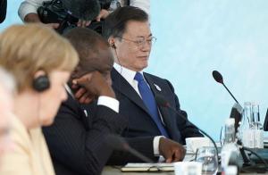 문 대통령, G7 '기후변화·환경' 세션 선도발언…탄소중립 의지 재확인